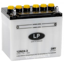 LP battery w acidpck 12N24-3