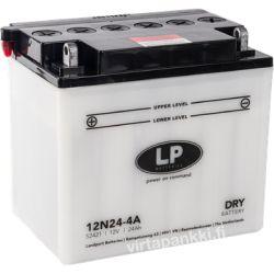LP battery w acidpck 12N24-4A