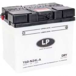 LP battery w acidpck Y60-N24L-A