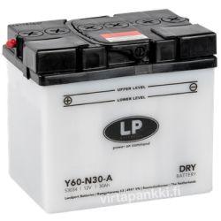 LP battery w acidpck Y60-N30-A