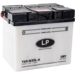 LP battery w acidpck Y60-N30L-A