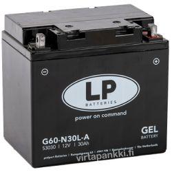 LP battery G60-N30L-A Gel