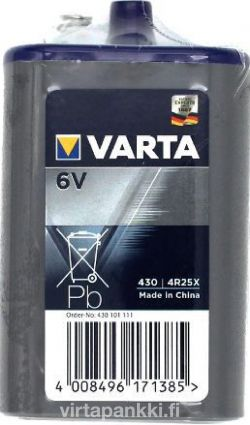 431 4R25 X 6V 8,5Ah