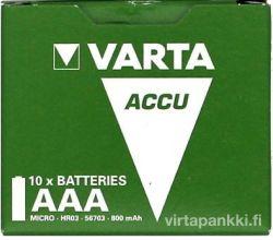 56703 Ready2Use AAA 800mAh 10-Pack