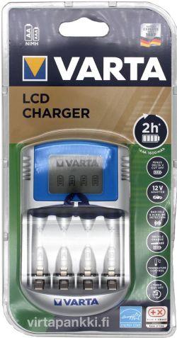 57070 201 401 LCD Charger (no cells) incl. 12V + USB - LCD Laturi paristoilla