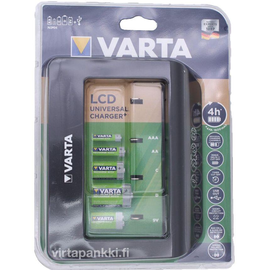 57688 101 401 LCD Universal Charger (no cells) - LCD Yleislaturi