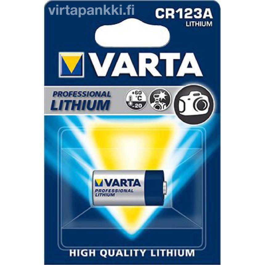 Lithium 6205 CR123